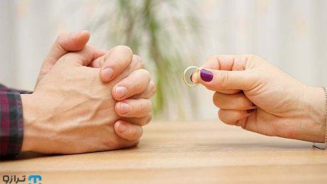 گرفتن حق طلاق زن